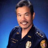 Harry S. Kubojiri, the current Chief of the Hawaiʻi Police Department.